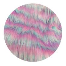 Pêlo Falsificado de Tintura de Luxo Customizado