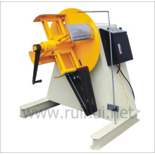 Desenrollador por modo de expansión manual o neumático e hidráulico utilizando la línea de presión