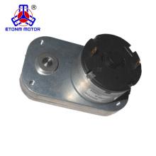 Kleines drehmomentstarkes Drehmoment des 12v flachen Getriebemotors für Haushaltsgerät