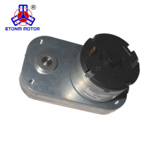Small 12v flat gearbox motor high torque for home appliance