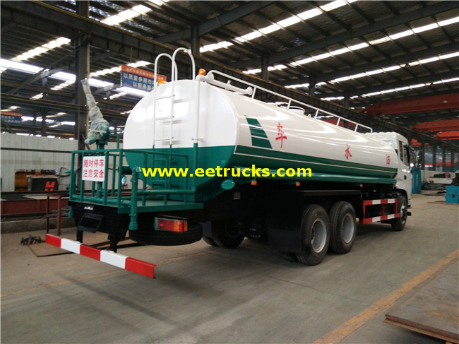 Dongfeng 12 Wheeler 15 CBM Water Carrier Trucks