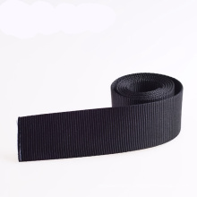 Eco-Friendly Black 1 Inch PP/Nylon/Polyester/Cotton Webbing for Garment and Bags