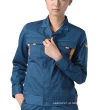Roupa de trabalho das mulheres da forma do revestimento do Workwear das mulheres do OEM