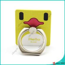 Support de téléphone d'anneau intelligent de canard jaune pour les enfants (SPH16041107)
