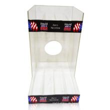 High Transparente Acryl Display Ständer für Liquid, Counter Display Unit