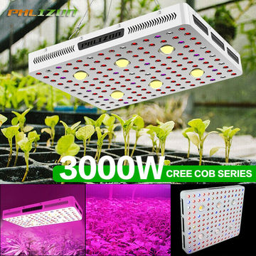 COB Style Led Grow Light Lamp Típicamente