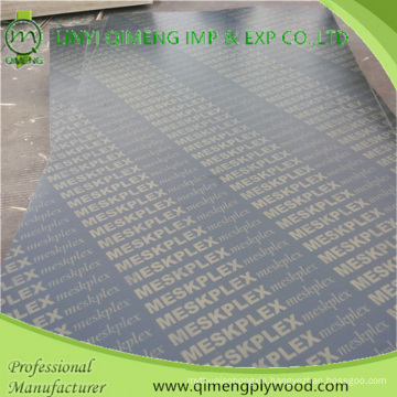 Black Color 18mm Recycled Core Marine Plywood with Low Price
