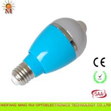 Lâmpada bulbo LED interior com sensor de movimento 7W