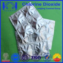 Dioxyde de chlore 8% et 10% Désinfectants pour tableaux Niveau alimentaire et industriel