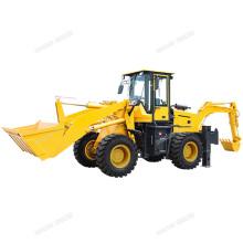 HENGWANG HW15-26 2000kg front backhoe loader mini compact digger loader machine supplier