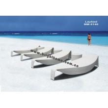 Ausgezeichnetes Design Rttan Wicker Outdoor Sun Bed