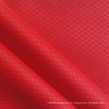 Poliéster duplo linha diamante PVC / PU Ripstop tecido