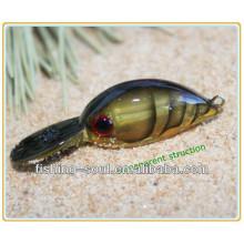 CKL005 5 CM 3.5G novo produto venda quente plástico isca manivela isca isca de pesca pequena