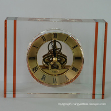 Amber Crystal Classic Big Watch Clock for Home Decoartion