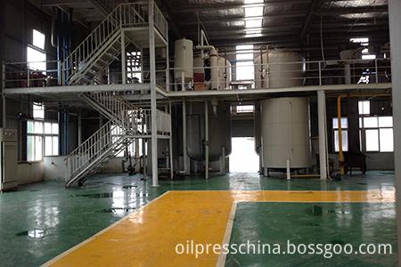 edible oil refinery process