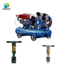 w3.5 / 5 machine de forage de Cimpressor d'air minier diesel