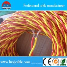 Aislamiento del PVC con el precio barato cable eléctrico de Twiste