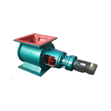 Low cost automatic rotary valve for dust