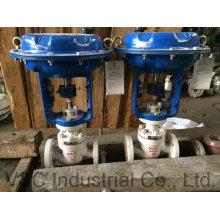 Válvula de controle elétrico / de pressão / fluxo para fluidos e gás