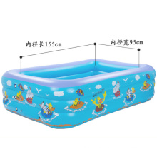 2.1m Children′s Inflatable Square Swimming Pool.