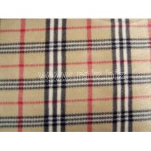 England Grid Polar Fleece Fabric