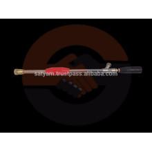 Pistola de pulverização de alta pressão com 76 mm a 3 pés ou comprimento personalizado