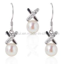 Bijoux en perles, Ensembles de perles, Collier pendentif en perle, Boucles d'oreilles en perle