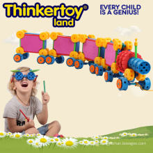 Creative Toys Building Block for Kids in Train Shape