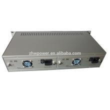 2U 19 дюймов 14 слотов шасси конвертера оптических носителей Rack Plug-in порт оптических приемопередатчиков Media Converter Chassis