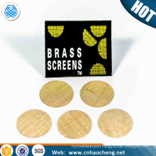 Wholesale Smoking Accessories Stainless Steel Pipe Screens Smoking Pipe Screens Steel Premium Gauzes Filter