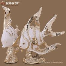ocean animal sculptures sea fish sculptures for home interior decor at factory price