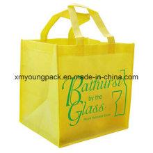 Kundenspezifische Non Woven Fabric Wiederverwendbare Tasche für Shopping