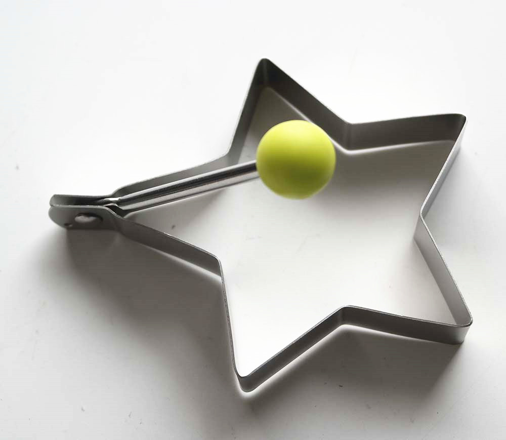 Star Fired Egg Mold