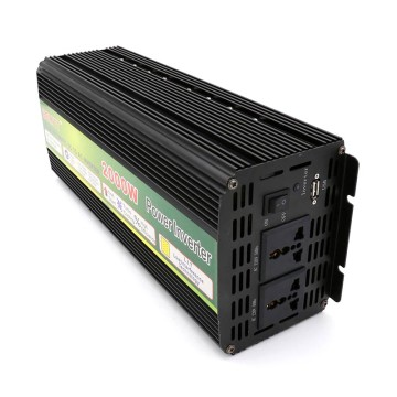 Mean Well DC 12V/24V/48V to AC 220V/110V 2000w power inverter
