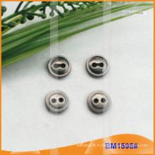 Bouton en alliage de zinc et boutons en métal et bouton de couture métallique BM1595