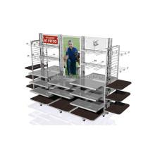 Custom Desig Shop Im Shop Display Möbel Große Bewegliche Kleidungsstück Retail Store Fixtures Für Verkauf