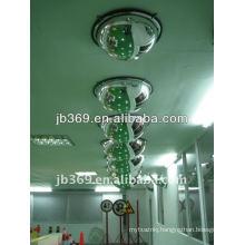 30cm 1/4 dome convex mirror, 90 degree acrylic safety dome convex mirror