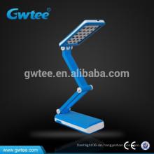 Smart Falten Solar wiederaufladbare LED Tischlampe Solar LED Lampe