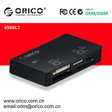 USB 2.0 card reader, support MS/XD/M2/TF/SD/CF