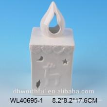 Керамическая масляная лампа с tealight