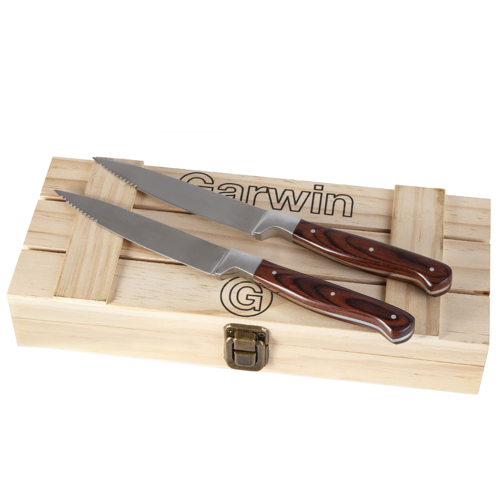 Garwin Steak knives with mirror finish