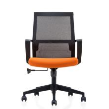Medium Back Staff Chair Nylon Frame Office Seating with Nylon Base