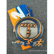Custom Running / Sport / Gold / Golden / Marathon / Award / Militär / Souvenir-Medaille