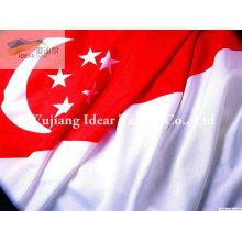 Banderas nacionales de poliester/poliester impreso cada bandera nacional de países