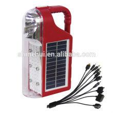 Luz de emergencia recargable / luces solares LED de emergencia