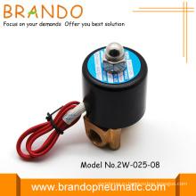 Высокое качество латуни тела 2W электромагнитный клапан