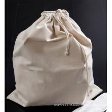 Roupa de algodão que lava o saco de limpeza da lavanderia do hotel do cordão (yky7401)