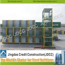 Low Cost Light Steel Structure Students Apartment Building