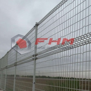 Vinyl Coted Double Circle Fence Double Loop Fence
