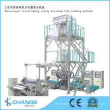 Sj-50*3e/1200 Three-Layer Common-Extruding Rotary Die-Head Film Blowing Machine
